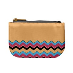Chevrons Patterns Colorful Stripes Mini Coin Purses by BangZart