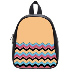 Chevrons Patterns Colorful Stripes School Bags (small)  by BangZart