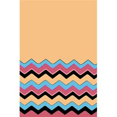 Chevrons Patterns Colorful Stripes 5 5  X 8 5  Notebooks by BangZart