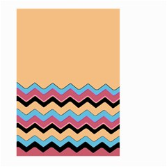Chevrons Patterns Colorful Stripes Large Garden Flag (two Sides) by BangZart