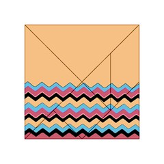 Chevrons Patterns Colorful Stripes Acrylic Tangram Puzzle (4  X 4 )