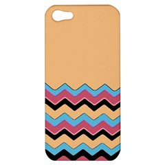 Chevrons Patterns Colorful Stripes Apple Iphone 5 Hardshell Case by BangZart