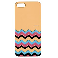 Chevrons Patterns Colorful Stripes Apple Iphone 5 Hardshell Case With Stand by BangZart