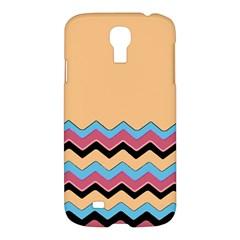 Chevrons Patterns Colorful Stripes Samsung Galaxy S4 I9500/i9505 Hardshell Case by BangZart