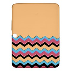 Chevrons Patterns Colorful Stripes Samsung Galaxy Tab 3 (10 1 ) P5200 Hardshell Case