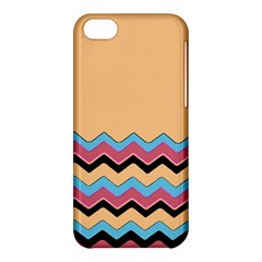 Chevrons Patterns Colorful Stripes Apple Iphone 5c Hardshell Case by BangZart