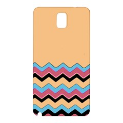 Chevrons Patterns Colorful Stripes Samsung Galaxy Note 3 N9005 Hardshell Back Case