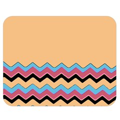 Chevrons Patterns Colorful Stripes Double Sided Flano Blanket (medium)  by BangZart