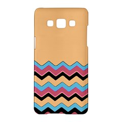 Chevrons Patterns Colorful Stripes Samsung Galaxy A5 Hardshell Case  by BangZart
