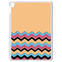 Chevrons Patterns Colorful Stripes Apple Ipad Pro 9 7   White Seamless Case