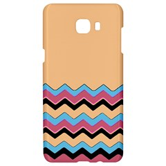 Chevrons Patterns Colorful Stripes Samsung C9 Pro Hardshell Case