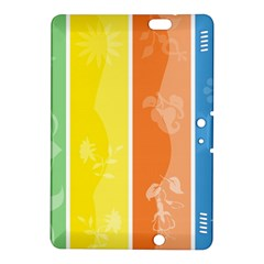 Floral Colorful Seasonal Banners Kindle Fire Hdx 8 9  Hardshell Case by BangZart