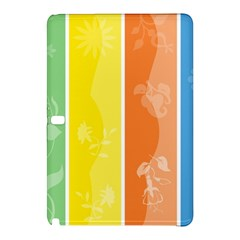 Floral Colorful Seasonal Banners Samsung Galaxy Tab Pro 12 2 Hardshell Case by BangZart