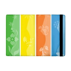 Floral Colorful Seasonal Banners Ipad Mini 2 Flip Cases