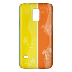Floral Colorful Seasonal Banners Galaxy S5 Mini by BangZart