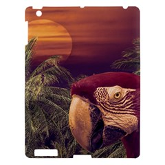 Tropical Style Collage Design Poster Apple Ipad 3/4 Hardshell Case by dflcprints