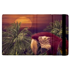 Tropical Style Collage Design Poster Apple Ipad Pro 12 9   Flip Case by dflcprints