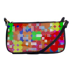 Abstract Polka Dot Pattern Shoulder Clutch Bags by BangZart