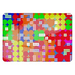 Abstract Polka Dot Pattern Samsung Galaxy Tab 8 9  P7300 Flip Case by BangZart