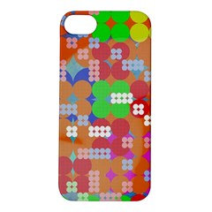 Abstract Polka Dot Pattern Apple Iphone 5s/ Se Hardshell Case by BangZart