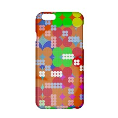 Abstract Polka Dot Pattern Apple Iphone 6/6s Hardshell Case by BangZart