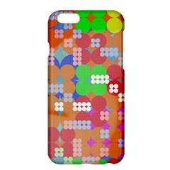 Abstract Polka Dot Pattern Apple Iphone 6 Plus/6s Plus Hardshell Case by BangZart