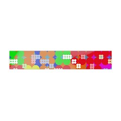 Abstract Polka Dot Pattern Flano Scarf (mini)