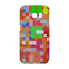 Abstract Polka Dot Pattern Galaxy S6 Edge by BangZart