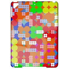 Abstract Polka Dot Pattern Apple Ipad Pro 9 7   Hardshell Case
