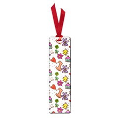 Cute Doodle Wallpaper Pattern Small Book Marks by BangZart