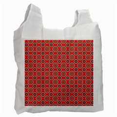 Floral Seamless Pattern Vector Recycle Bag (two Side)  by BangZart