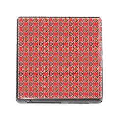Floral Seamless Pattern Vector Memory Card Reader (square) by BangZart