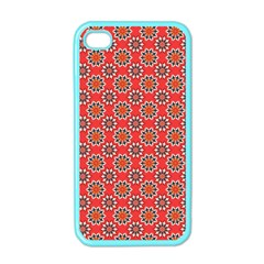 Floral Seamless Pattern Vector Apple Iphone 4 Case (color) by BangZart