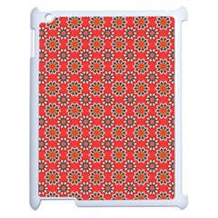 Floral Seamless Pattern Vector Apple Ipad 2 Case (white) by BangZart