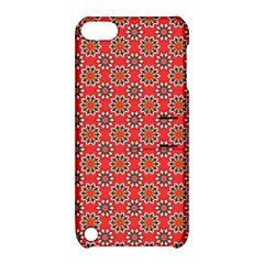 Floral Seamless Pattern Vector Apple Ipod Touch 5 Hardshell Case With Stand by BangZart