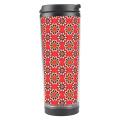Floral Seamless Pattern Vector Travel Tumbler by BangZart