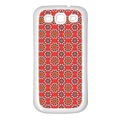 Floral Seamless Pattern Vector Samsung Galaxy S3 Back Case (white) by BangZart