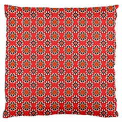 Floral Seamless Pattern Vector Large Flano Cushion Case (one Side)