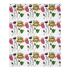 Handmade Pattern With Crazy Flowers Shower Curtain 60  X 72  (medium)  by BangZart