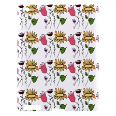 Handmade Pattern With Crazy Flowers Apple Ipad 3/4 Hardshell Case by BangZart