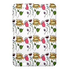 Handmade Pattern With Crazy Flowers Kindle Fire Hd 8 9  by BangZart