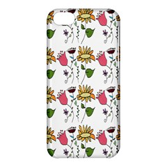 Handmade Pattern With Crazy Flowers Apple Iphone 5c Hardshell Case by BangZart