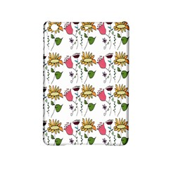 Handmade Pattern With Crazy Flowers Ipad Mini 2 Hardshell Cases