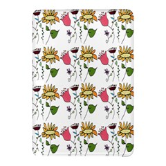 Handmade Pattern With Crazy Flowers Samsung Galaxy Tab Pro 10 1 Hardshell Case
