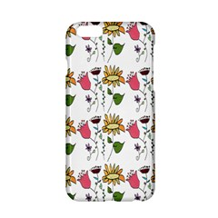 Handmade Pattern With Crazy Flowers Apple Iphone 6/6s Hardshell Case by BangZart