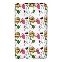 Handmade Pattern With Crazy Flowers Samsung Galaxy Tab 4 (7 ) Hardshell Case  by BangZart