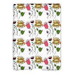 Handmade Pattern With Crazy Flowers Samsung Galaxy Tab S (10 5 ) Hardshell Case