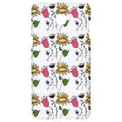 Handmade Pattern With Crazy Flowers Samsung C9 Pro Hardshell Case  by BangZart