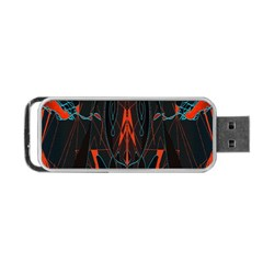 Doodle Art Pattern Background Portable Usb Flash (two Sides) by BangZart