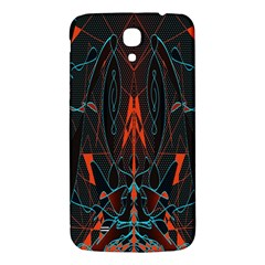 Doodle Art Pattern Background Samsung Galaxy Mega I9200 Hardshell Back Case by BangZart